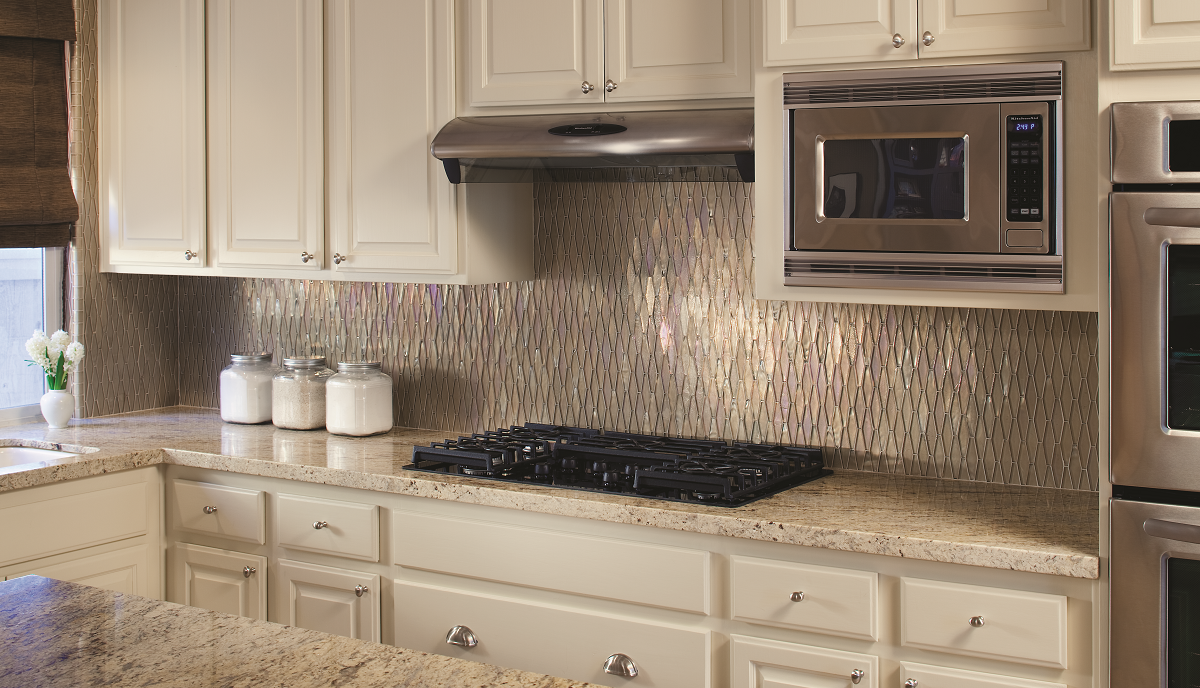 Glass diamond backsplash aspentile igmusekitchen dailygadgetfo Images