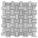 """Mystic Gray with 3/8"""" White Dot (polished)"""